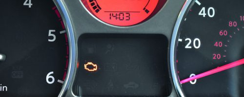 engine management light on dashboard